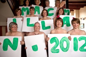 Calendar Girls 2012 for Macmillan