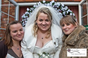 The Millers at Sibson wedding photos