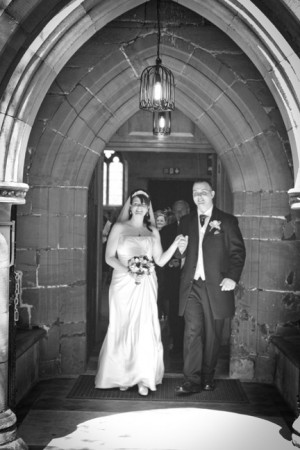 Sarah and Martyn at Alrewas Church and Newton Park Hotel