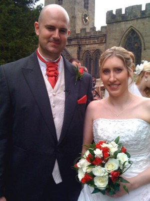 Breadsall Priory wedding for Angela and Matthew