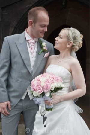 Katherine and Luke at St Chad's Church & Lea Marston Hotel