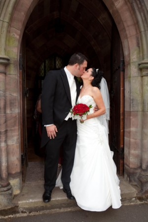 St Mark's Great Wyrley and Patshull Park wedding for Julia and William