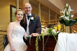 Adam and Jayne's Belfry wedding