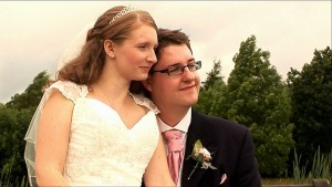 Cannock Chase Golf Club wedding reception for Elliott and Rebecca