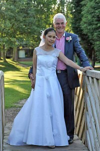 image of Cherryl and Roger Smythe, St Brigid's Church, Northfield and Lea Marston Golf Club & Hotel