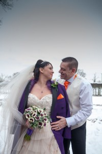 image of Anthony and Claire at Oak Farm Hotel