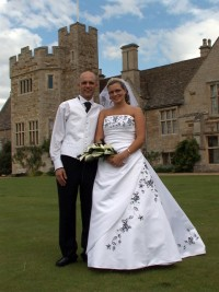 image of Natalie and Dale Murray, Rockingham Church and Rockingham Castle