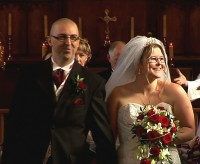 image of Rachel and Neil St Chad's Church Chadsmoor and Roman Way Hotel, Cannock